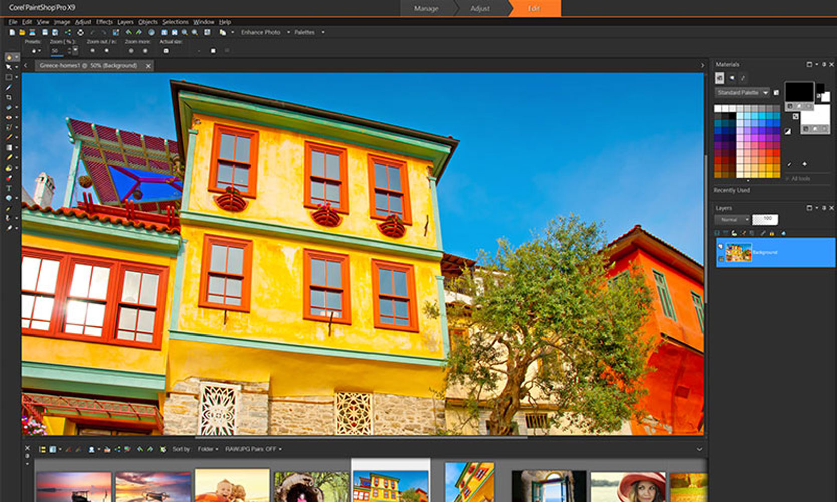 Paint Shop Pro X9 - image editor alternative to Photoshop
