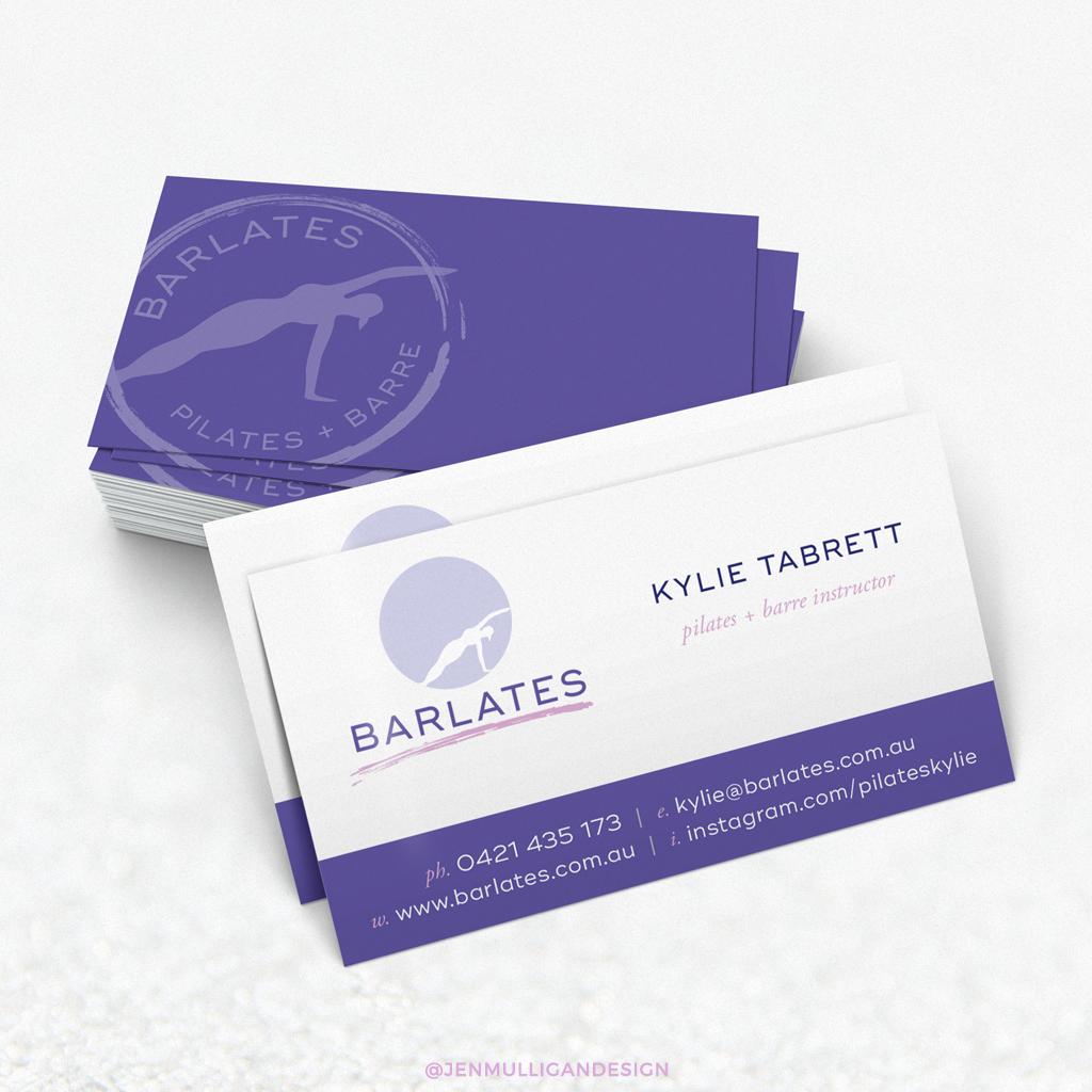 Barlates Business Card Design by Jen Mulligan Design