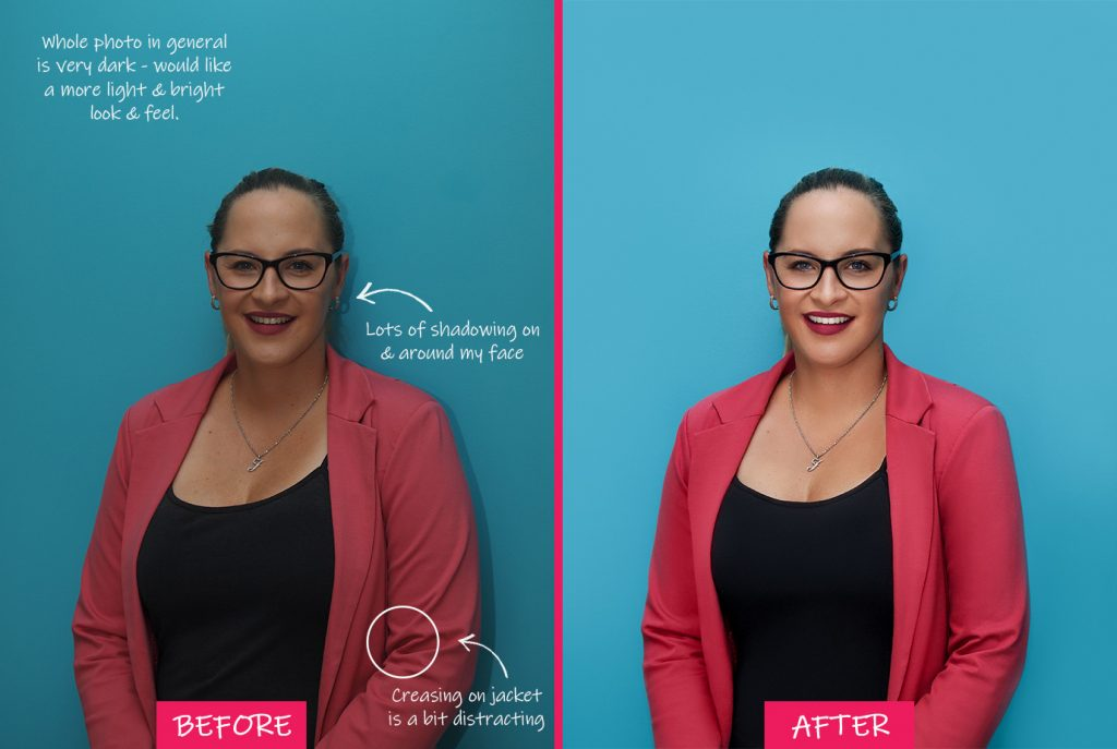 Fix the Photo - image retouching service review - headshot photo editing